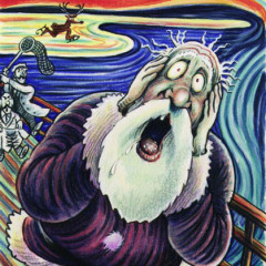 "Edvard Munch: ""Insanity Claus"""