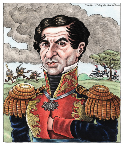 BAD GENERALS: ANTONIO LÓPEZ DE SANTA ANNA, THE NAPOLEON OF THE WEST