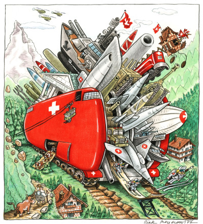 THE SWISS ARMY-NAVY-AIR FORCE