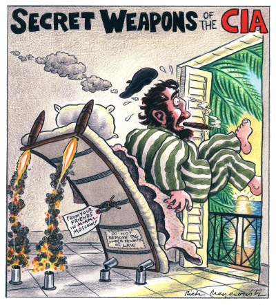 SECRET WEAPONS OF THE CIA (PART ONE)