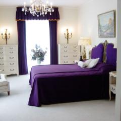 Memphis. Bedroom in Graceland.