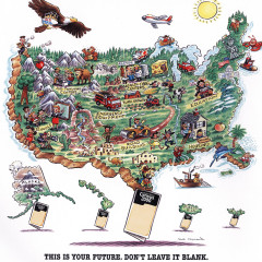 US Census 2000: The Map Ad.
