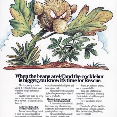 Mr. Cocklebur: Giant Weed Killer Ad.