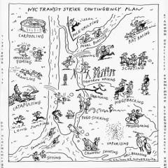 NYC Transit Strike Contingency Plan