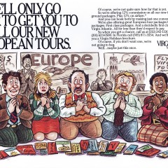 Virgin Airlines: Begging Travel Agents Ad.