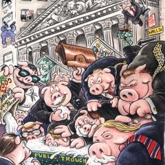 Wall Street Pigs
