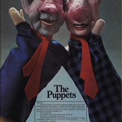 The Puppets. This ad appeared in National Lampoon, December 1970