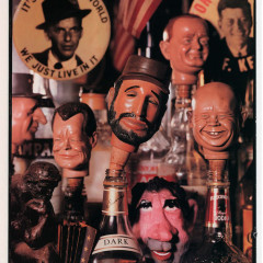 Richard Nixon's Head Found In Bar! Photo by Richard Avedon. The New Yorker, October 1993.